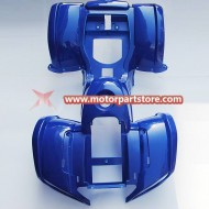 Hot Sale Blue Fender Plastic Cover Set For 110cc 125cc Atv