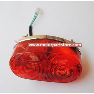 Hot Sale Red Kawasaki Tail Light Fit For 125 to 250cc Atv