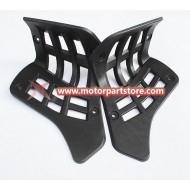 High Quality Left & Right Plastic Footpeg Fit For 110cc 125cc Atv