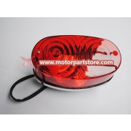 Hot Sale Red Tail Light Fit For 125cc to 250cc Atv Big Mars