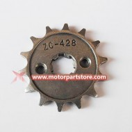 ZC-428 Sprocket fit for 110cc ATV and dirt bike