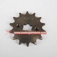428 14-Tooth 17mm Engine Sprocket  For Scooter