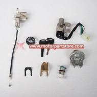 Key Ignition Switch Lock Set Scooter Moped 110 150 250cc 49 50cc For Suzuki Hot Selling