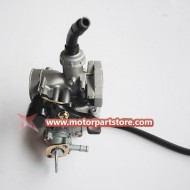 New PZ19 Carburetor With Hand Choke For 50CC 90CC 110CC Atv
