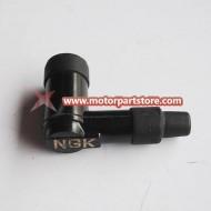 Spake plug resistor cap
