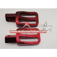 CNC Foot Peg for 4-stroke 50cc-150cc Dirt Bike.