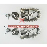 Foot Peg for 4-stroke 50cc-150cc Dirt Bike.