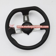 The Steering wheel fit for KD-49FM5 KANDI go kart