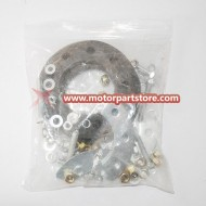 9 Hole Sprocket Mount Kit 80ccMotorized Bicycle