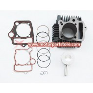 New 52mm Engine Parts Cylinder Kits Piston For 110cc 125cc Atv