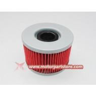 Hot Sale Red Oil Filters For Honda TRX500FA Rubicon 680 Atv