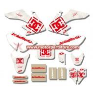 3M GRAPHICS STICKERS HONDA CRF50 CRF50F 2004-2012