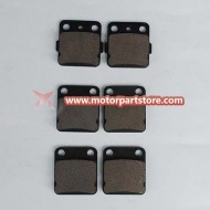 2016 Hot Sale Front Rear Brake Pads Warrior Yfm350 1989-2004
