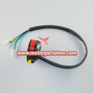 High Quality Black 3-Function Left Switch Assembly For Dirt Bike And Atv
