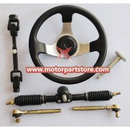The Steering sets fit for 110cc to 150cc go karts