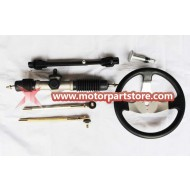 The steering wheel assy fit for 150cc go karts