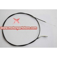 The throttle cable for the 110CC to 150cc go karts