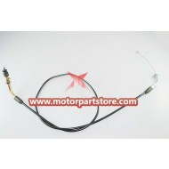The throttle cable for the 110CC go karts