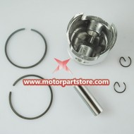 Piston for 49CC 40-6 2 stroke bike.