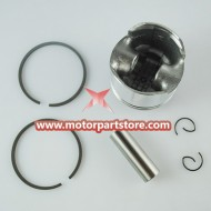 Piston for 49CC 44-6 2 stroke bike.