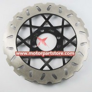 The front brake disc fit for the dirt bike