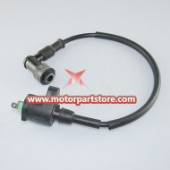 New Ignition Coil,90°Elbow Fit For Gy6 150 Atv