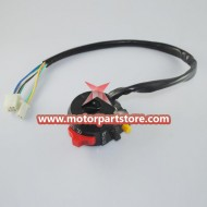 New 3-Function Left Switch Assembly For Pocket Bike And Atv