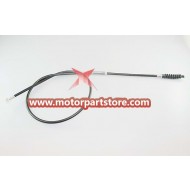 The clutch cable for the 110CC dirt bike