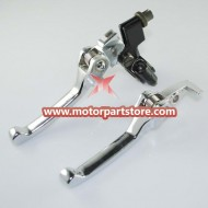 The brake lever with clutch lever fit  dirt bike