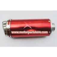 The muffler fit for dirt bike