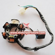 New 6-Coil Magneto Stator For 110cc Atv