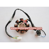 New 8-Coil Magneto Stator For GY6 50-150 Atv