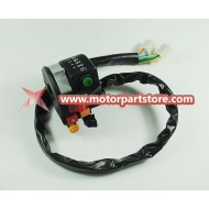 High Quality 6-Function Left Handle Bar Switch With Choke