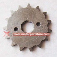 15-Tooth Engine Sprocket for YX140CC dirt bike
