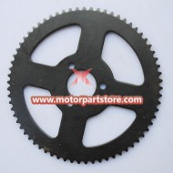 25H 68teeth Sprocket for 49cc pocket bike