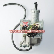 High Quality Silver 30mm Hand Chock Carburetor Atv