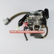 New 24mm Carburetor For Gy6 125cc-150cc Atv