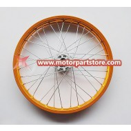 1.85 x 21 front alloy rim with hub