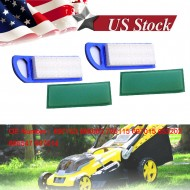 2 Packs Lawn Air Filter For B & S 697153 795115 794422 698083 697015 697014