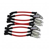 Red Plug Wires For CHEVY Silverado 1500-2500 99-06 LS1 VORTEC 4.8L 5.3L 6.0L