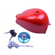 Fuel Gas Tank Cap Petcock FOR Honda Mini Trail Z50 Z50A Z50J Z50R Red color