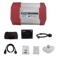 VXDIAG MULTI Diagnostic Tool 4 in 1 for TOTOYA V10.10.018/ Ford and Mazda V95.03/ JLR V141 Wifi Version