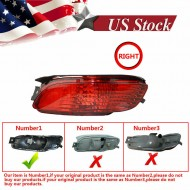 Right Rear Marker Bumper Reflector Light Durable Stable For Lexus RX330 04-09
