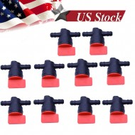 10x 1/4 Gas Fuel Cut off Valves Shutoff For B & S 494768 698183