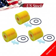 OF5608 SET OF 3 PCS FITS TOYOTA ,LEXUS OIL FILTER CAMRY,ES300H,RX350,SIENNA